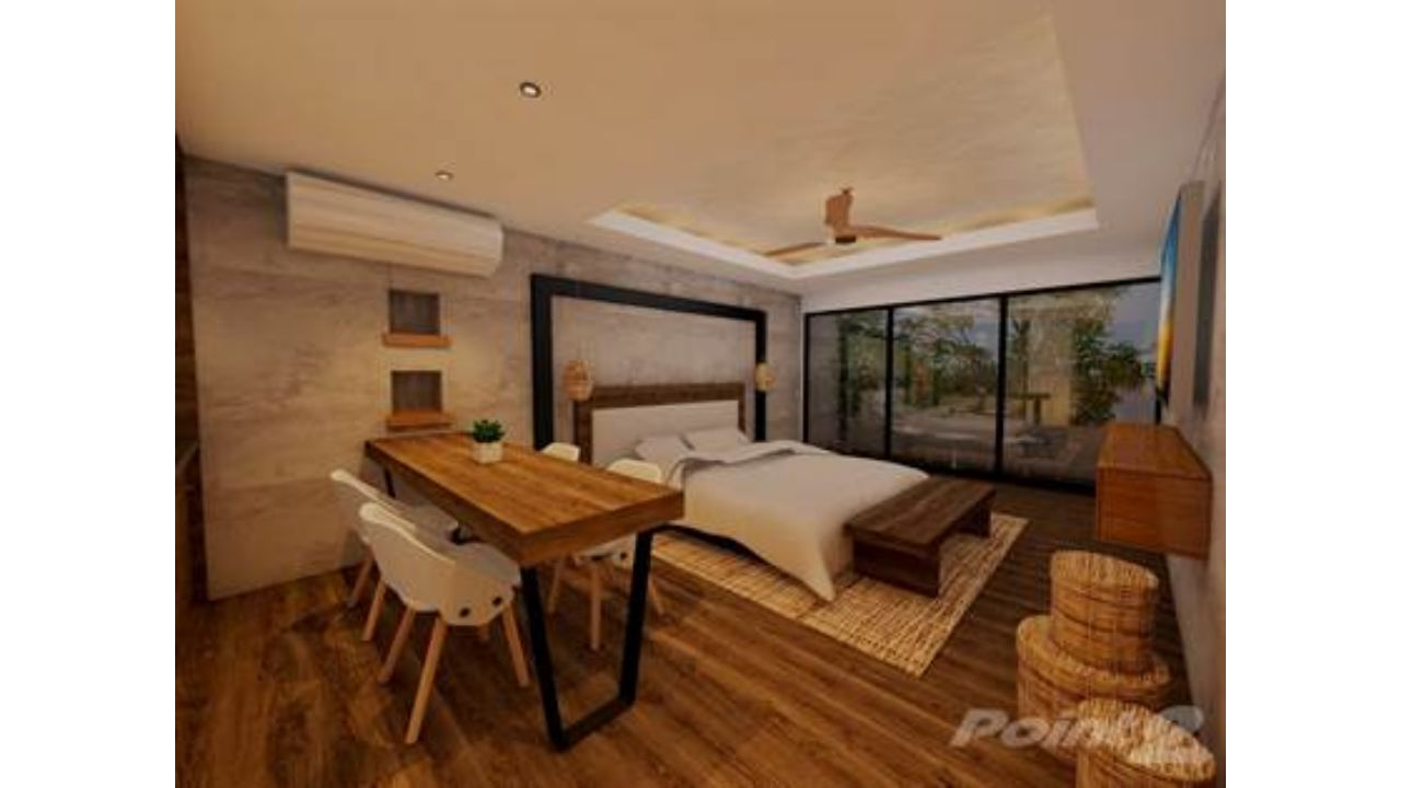 Last unit!!! luxurious and Design Studio with Balcony in Aldea Zama. Internal financing